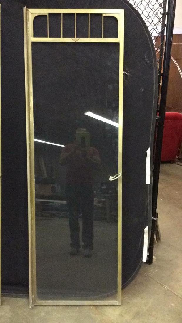 G.M KETCHAM MFG CORP Vintage Brass Shower Doors - 2