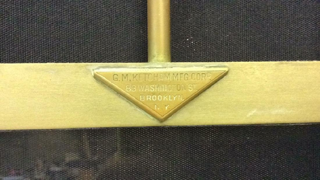 G.M KETCHAM MFG CORP Vintage Brass Shower Doors - 4