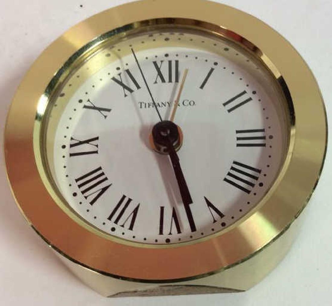Tiffany and Company Round Desk Clock, Germany - 10