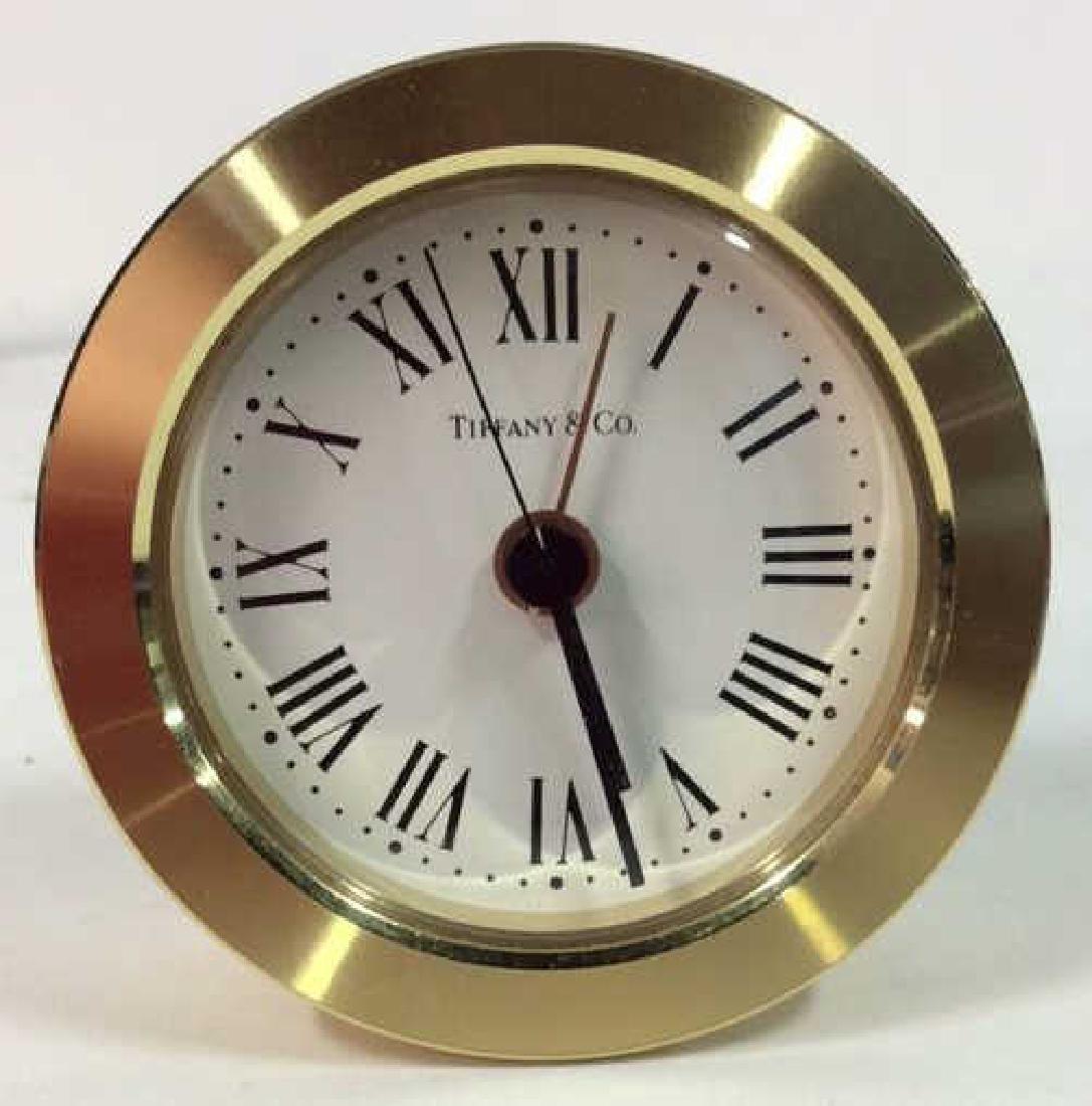 Tiffany and Company Round Desk Clock, Germany