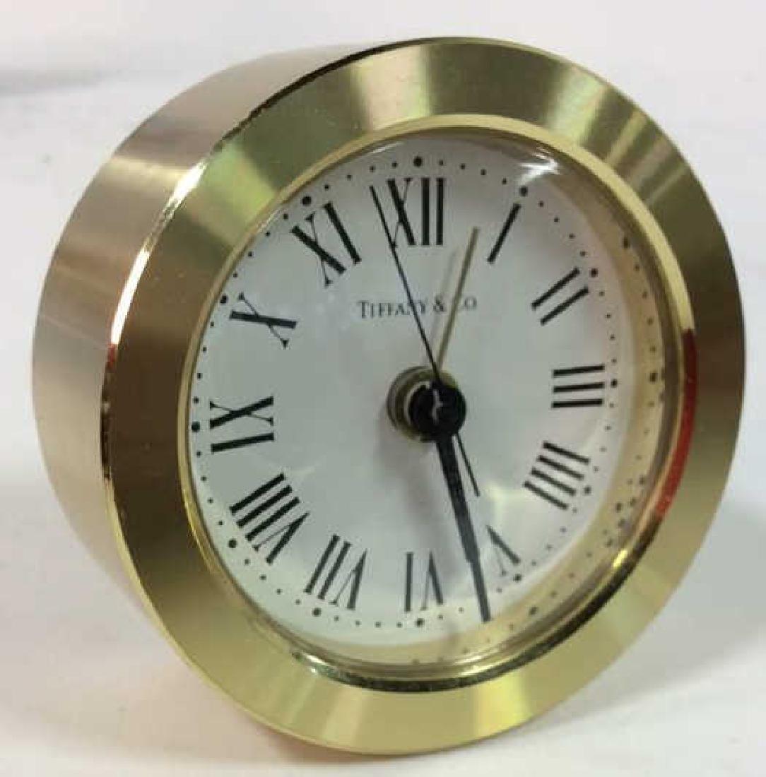 Tiffany and Company Round Desk Clock, Germany - 2
