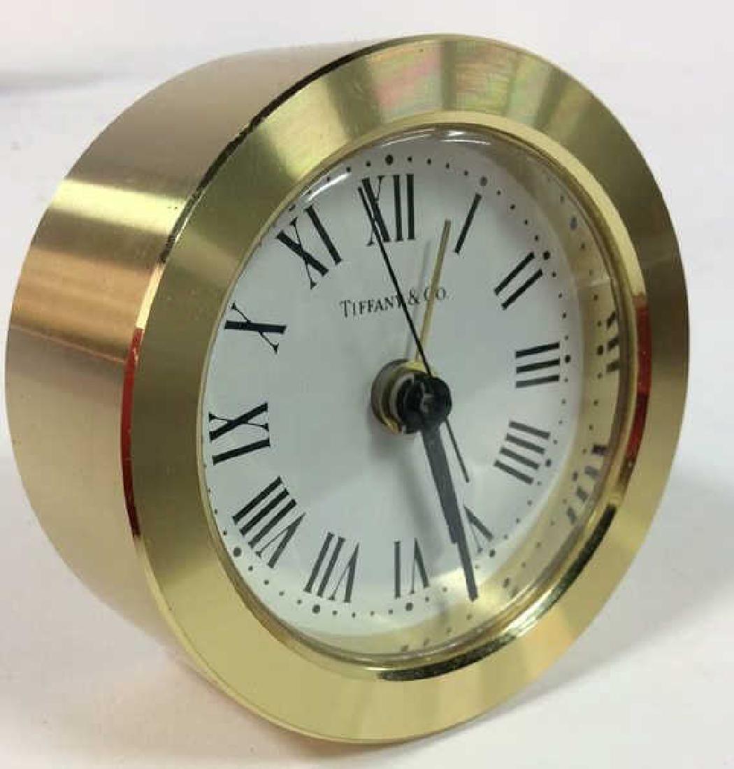 Tiffany and Company Round Desk Clock, Germany - 3