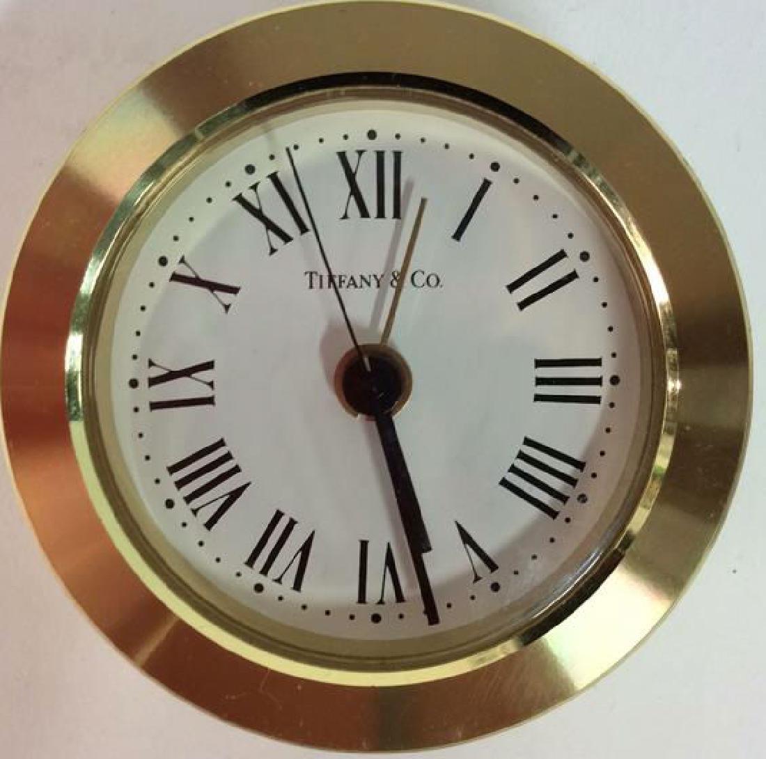 Tiffany and Company Round Desk Clock, Germany - 7