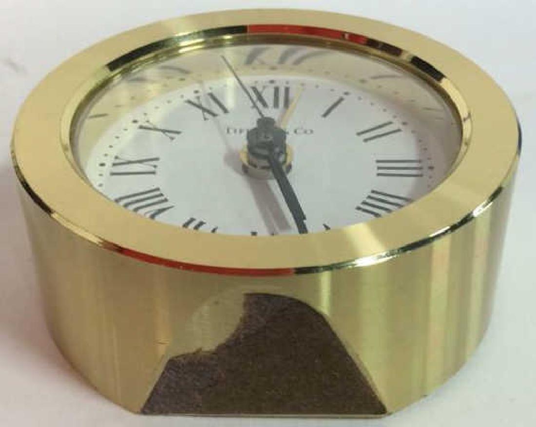 Tiffany and Company Round Desk Clock, Germany - 8