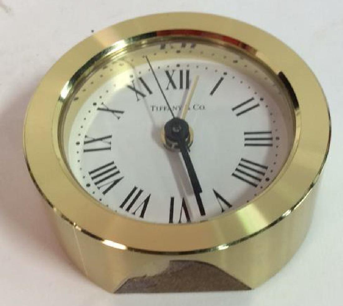 Tiffany and Company Round Desk Clock, Germany - 9