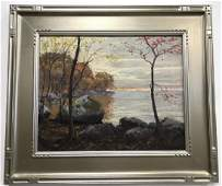 Hal Robinson Signed Oil on Canvas