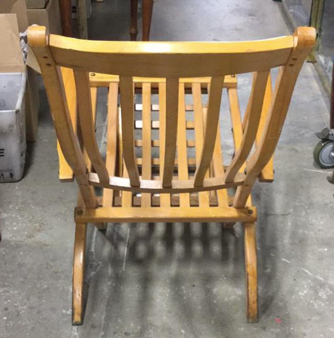 The R.M.S. Queen Mary Wooden Lounge Chair - 6