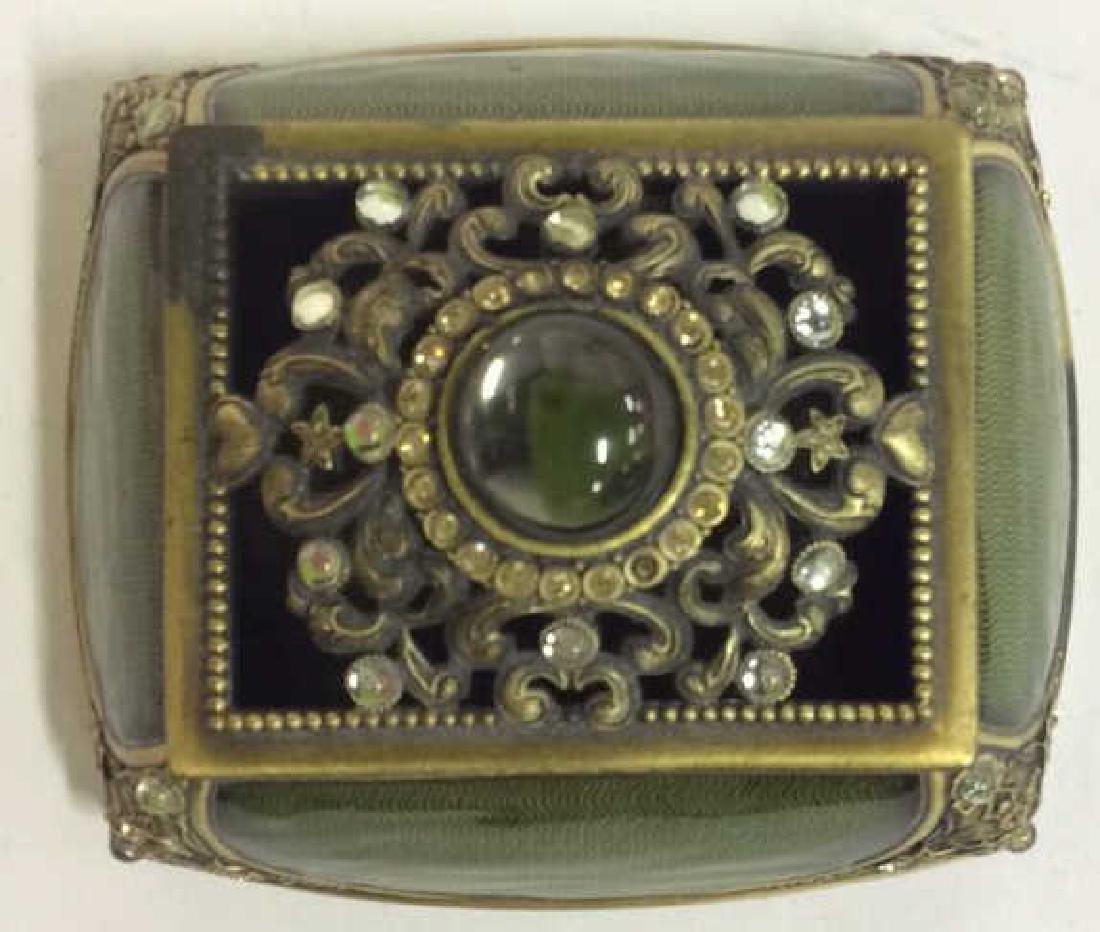 BEREBI Bejeweled Enameled Gilded Box - 5