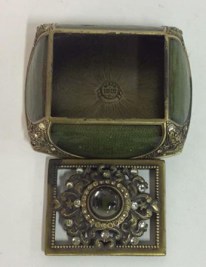 BEREBI Bejeweled Enameled Gilded Box - 6