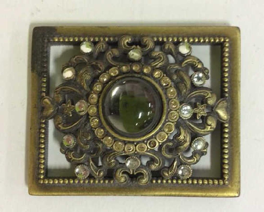 BEREBI Bejeweled Enameled Gilded Box - 7