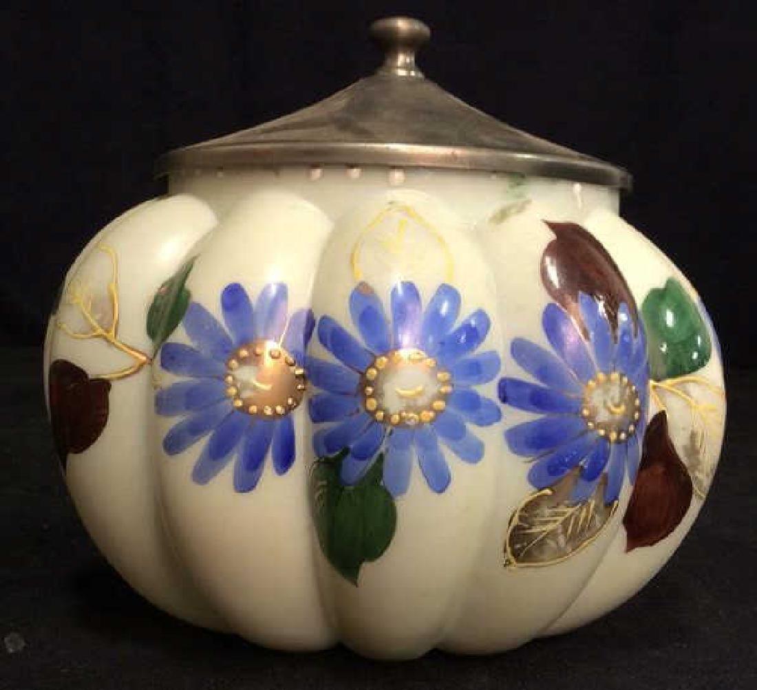 Collectible WAVECREST Painted Cookie Jars - 2