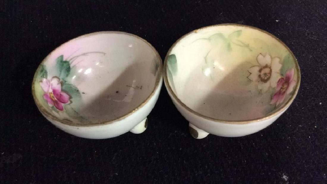 Vintage Antique Porcelain Salt Pepper Lot - 9