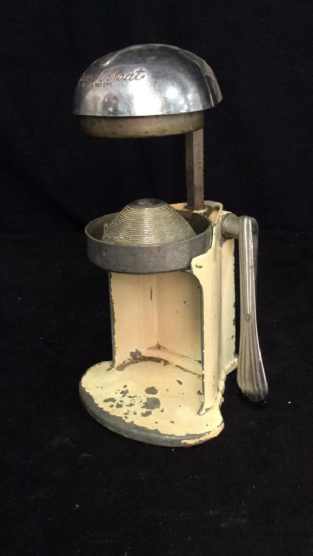 iVintage Metal Juice O Mat Juicer - 10