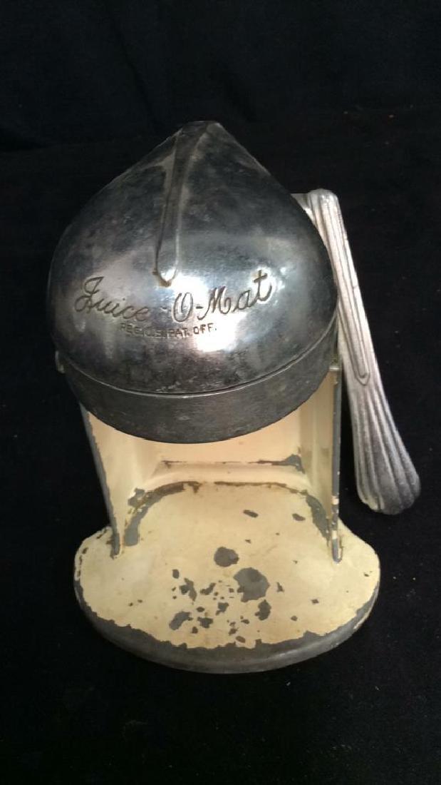 iVintage Metal Juice O Mat Juicer - 4