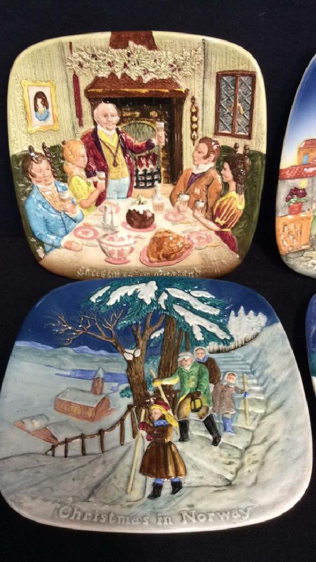 Set 7 BESWICK Collectible Christmas Plates - 5