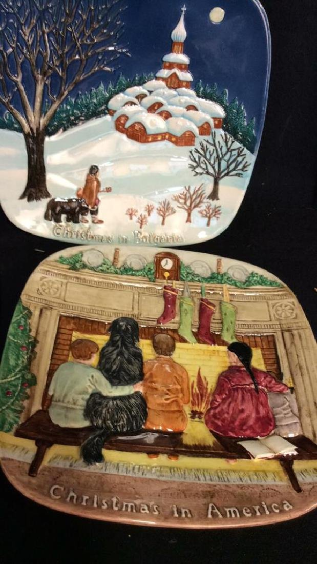 Set 7 BESWICK Collectible Christmas Plates - 6