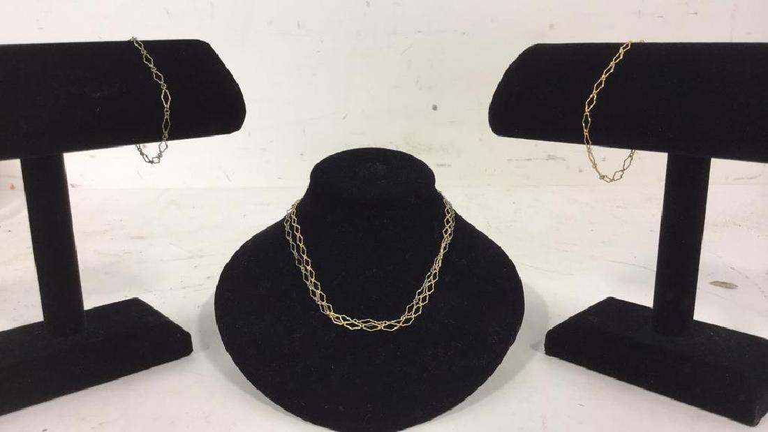 Group of 4 Vintage Necklaces & Bracelets