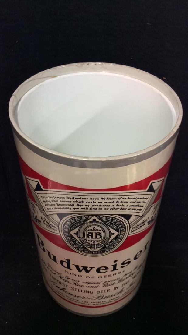 BUDWEISER Lidded Ice Bucket - 6