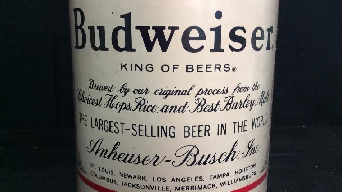 BUDWEISER Lidded Ice Bucket - 8