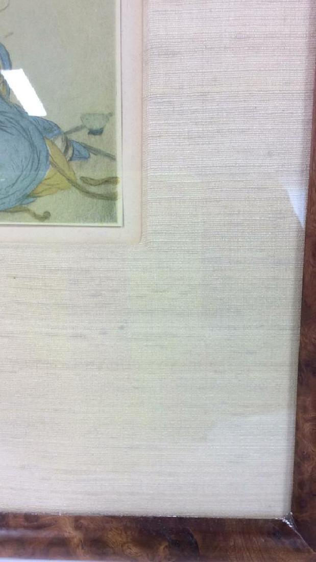 Lot 2 Reproduction of Asian Matte Art Print - 6