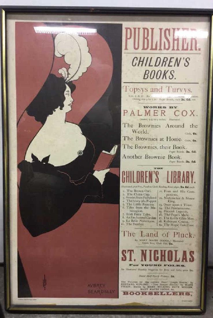 Athena Reproductions Aubrey Beardsley Poster