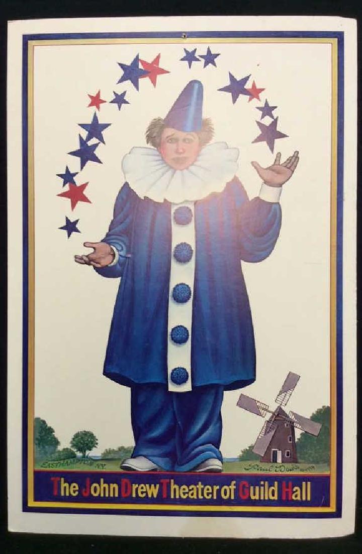 The John Drew Theatre of Guild Hall Poster Board
