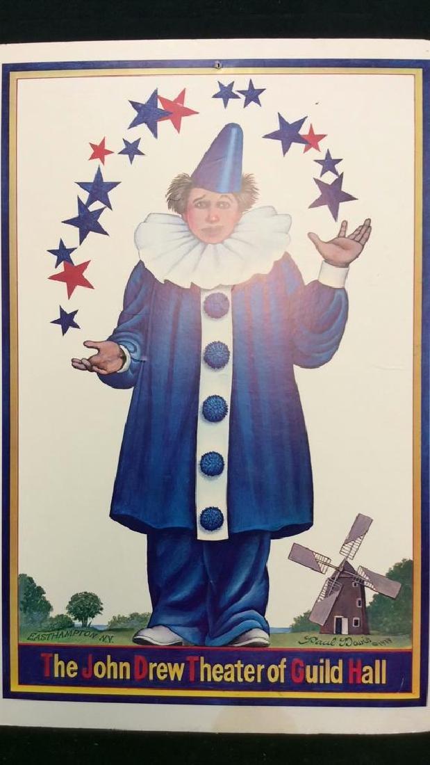 The John Drew Theatre of Guild Hall Poster Board - 2