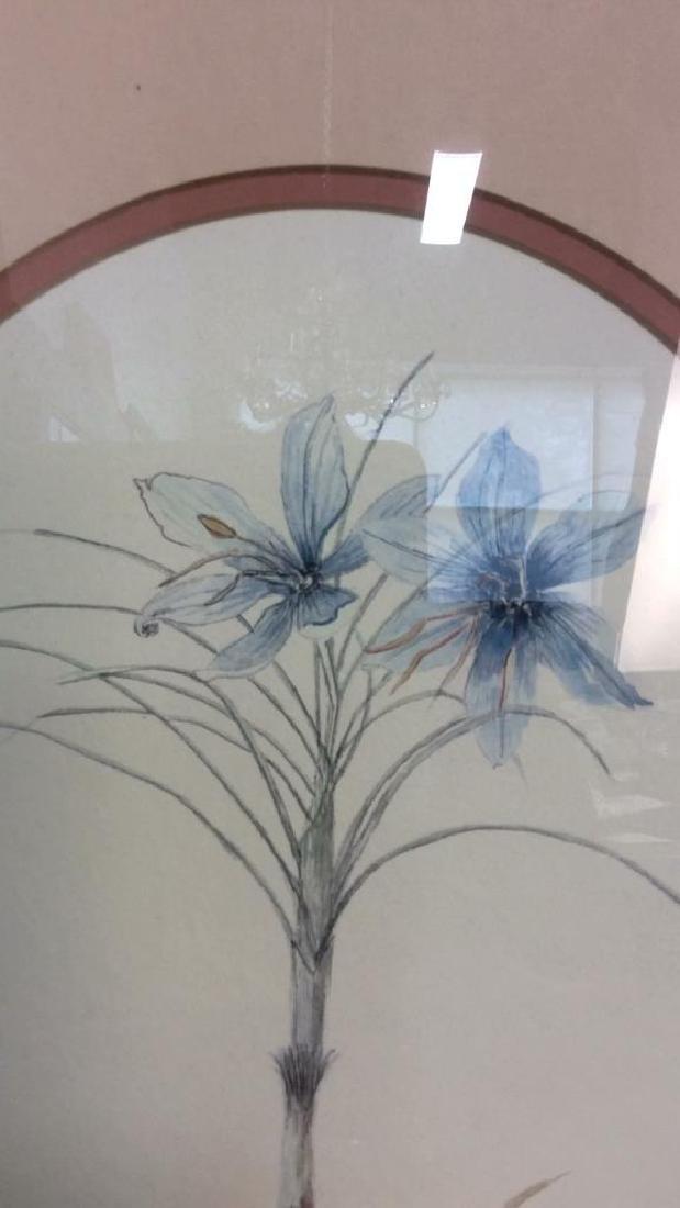 Blue Crocus Botanical Print - 7
