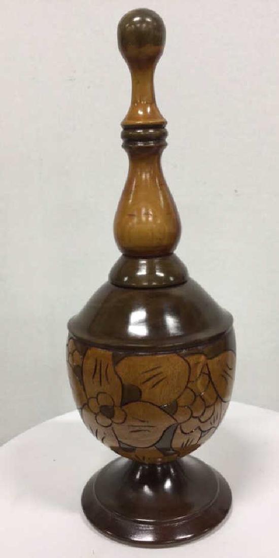 Sonson Rénélus Carved Wooden Tabletop Accessory