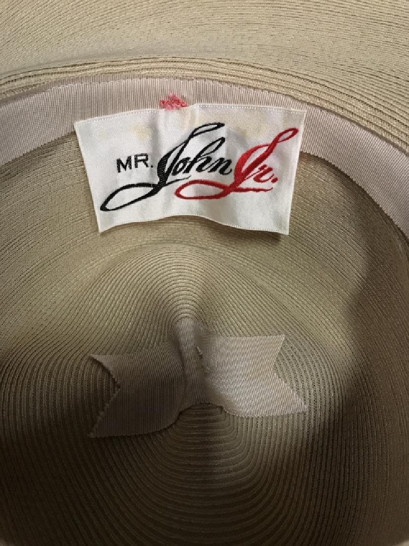 Lot 2 Vintage Mr John Jr. Ladies Dress Hats - 2
