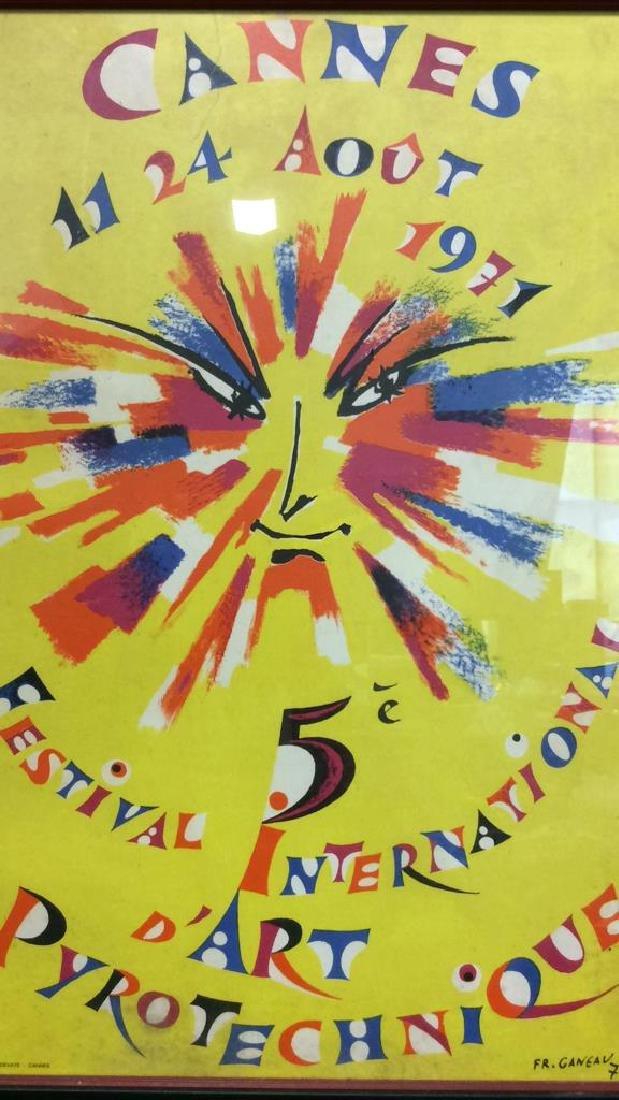 Framed Vintage FR. GANEAU Poster - 2