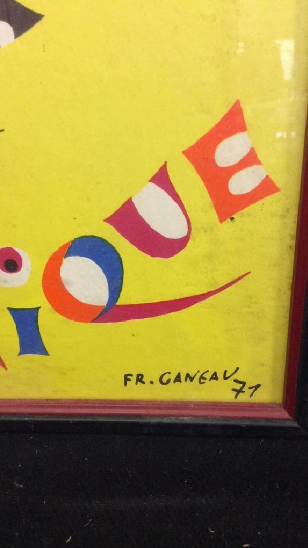 Framed Vintage FR. GANEAU Poster - 6