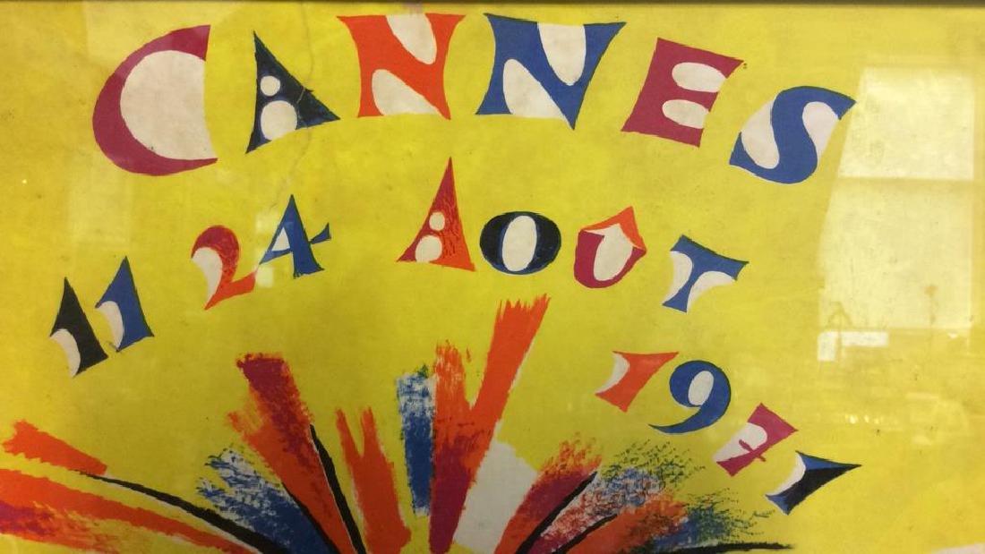 Framed Vintage FR. GANEAU Poster - 8