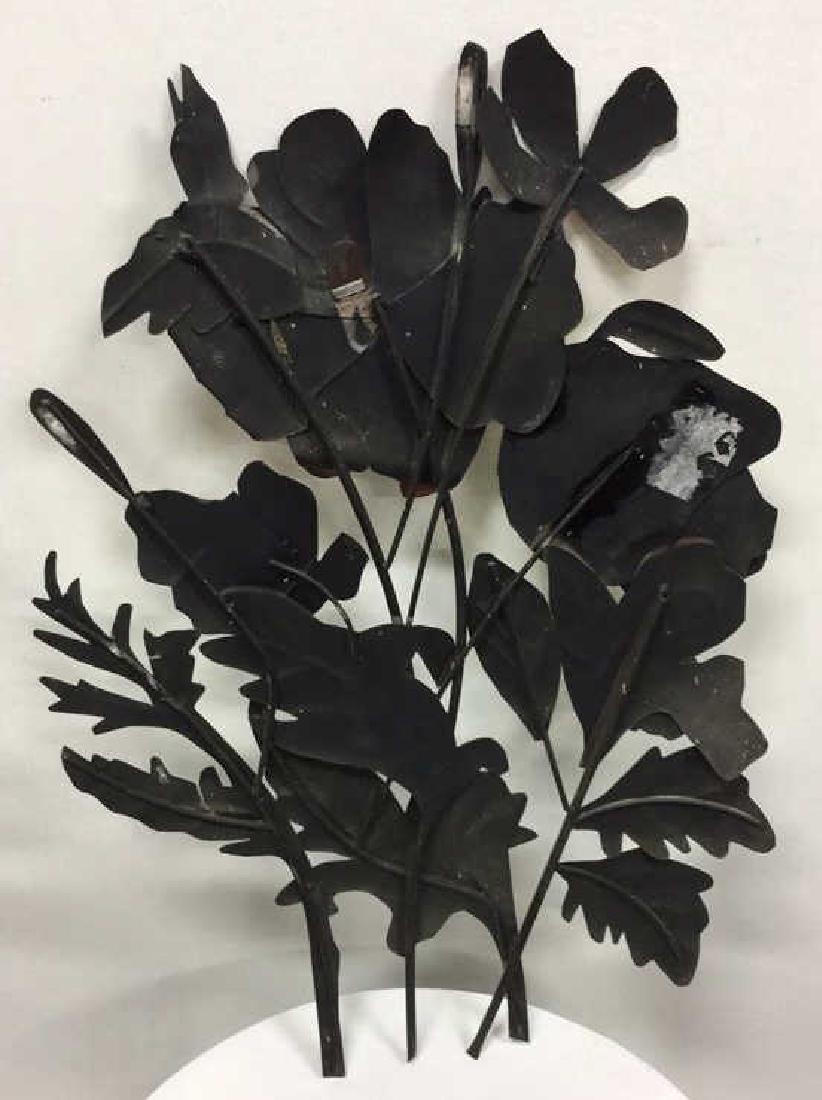 Floral Metal Art Sculpture Wall Art - 8
