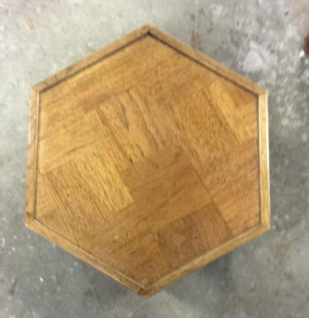 LANE Mid-Century Hexagonal Table - 2