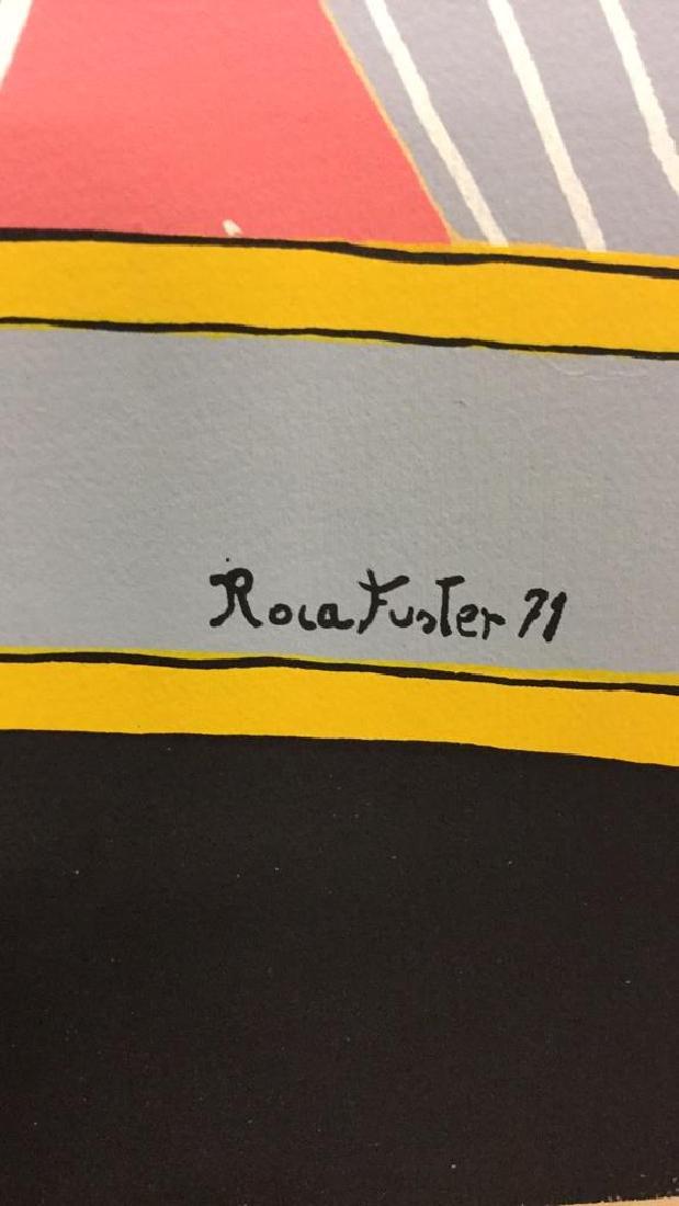 Vintage Joan Miquel Roca Fuster Lithograph - 6