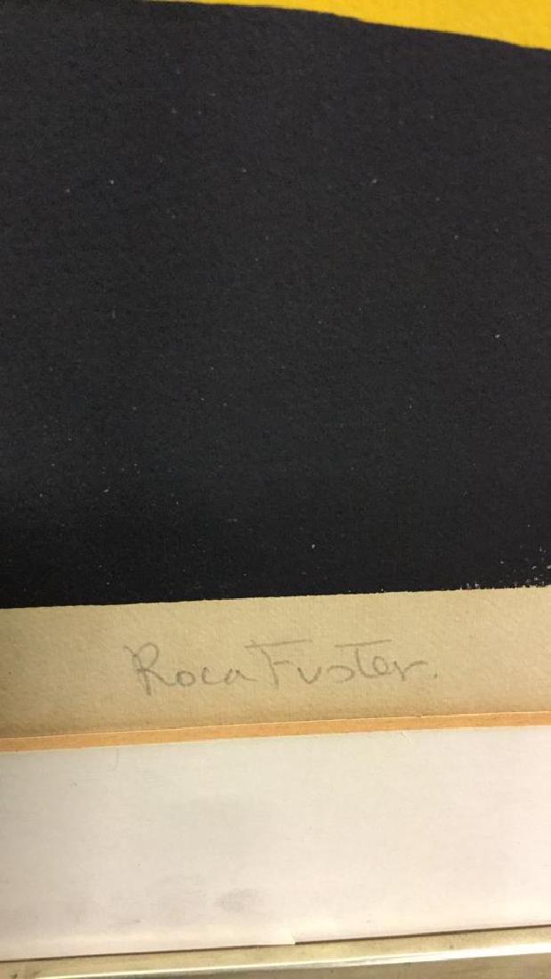 Vintage Joan Miquel Roca Fuster Lithograph - 7