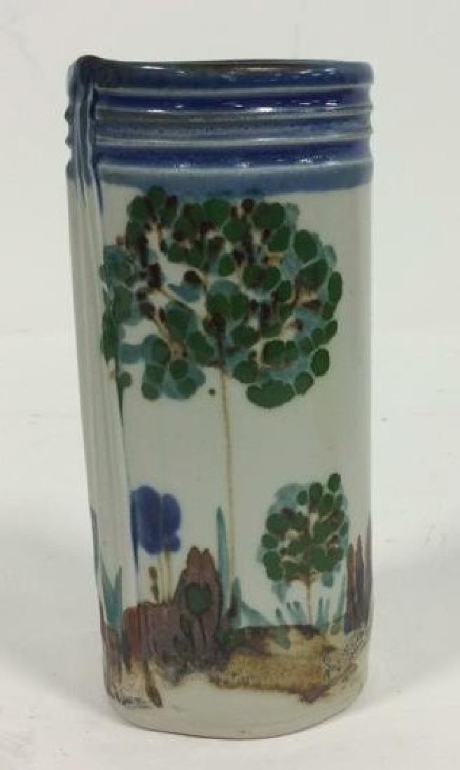 HARING Ceramic Handmade Hand-painted Vase