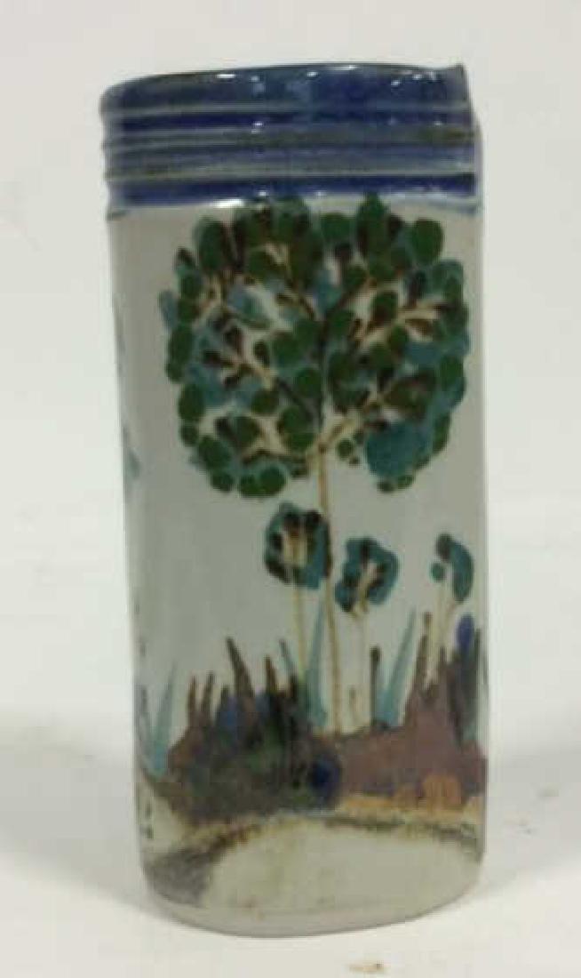 HARING Ceramic Handmade Hand-painted Vase - 2