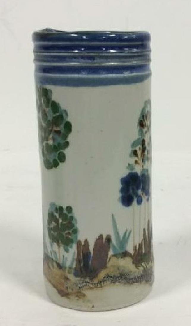 HARING Ceramic Handmade Hand-painted Vase - 4