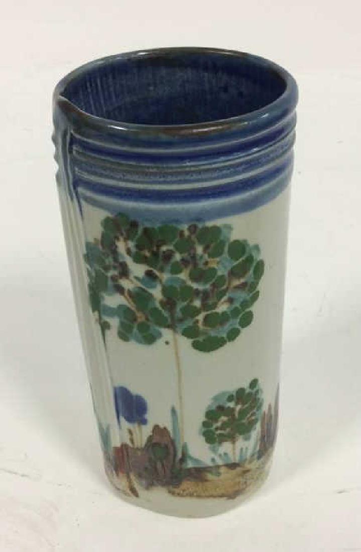 HARING Ceramic Handmade Hand-painted Vase - 5
