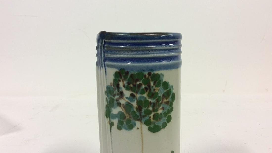HARING Ceramic Handmade Hand-painted Vase - 6
