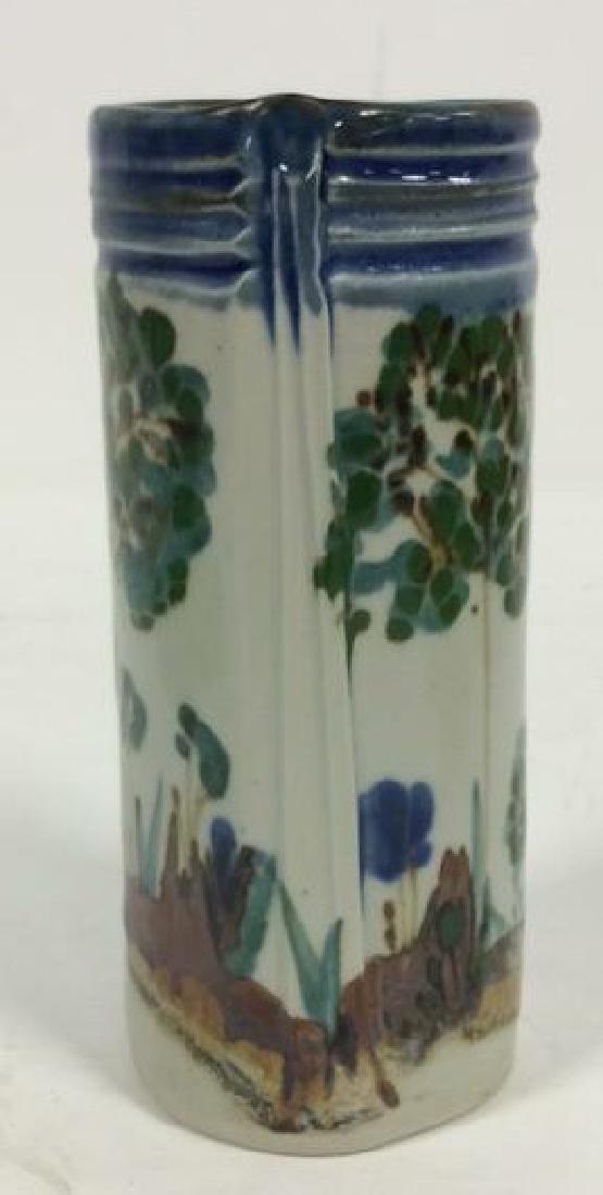 HARING Ceramic Handmade Hand-painted Vase - 9