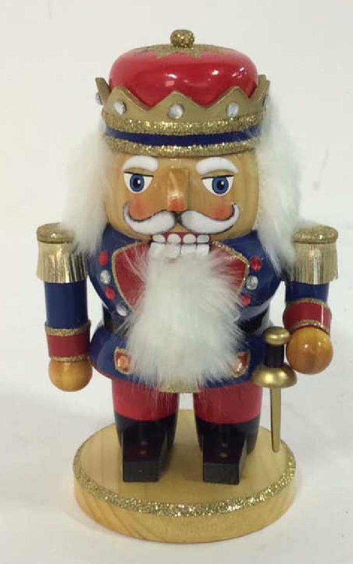 LORD AND TAYLOR Wooden Hand Painted Nutcracker