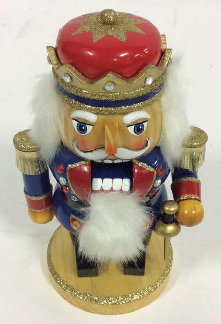 LORD AND TAYLOR Wooden Hand Painted Nutcracker - 2