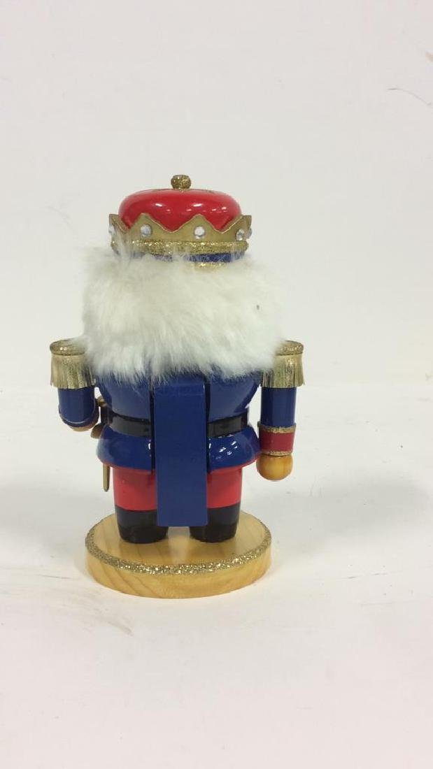 LORD AND TAYLOR Wooden Hand Painted Nutcracker - 3