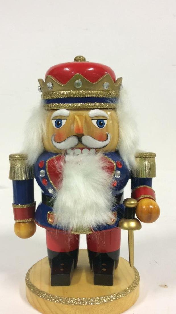LORD AND TAYLOR Wooden Hand Painted Nutcracker - 4