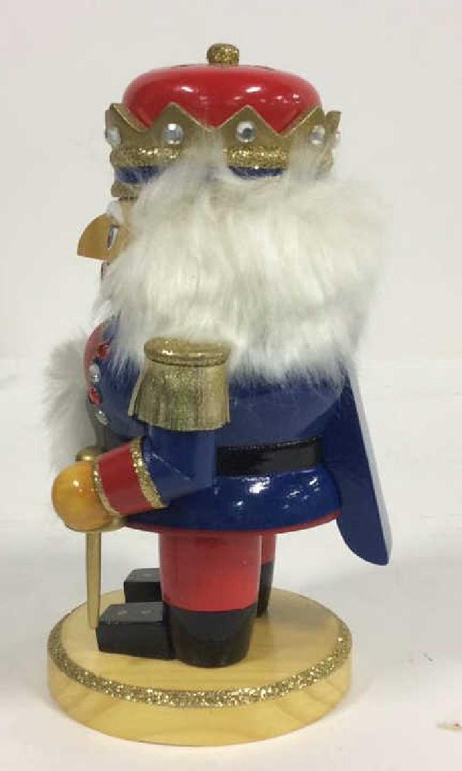 LORD AND TAYLOR Wooden Hand Painted Nutcracker - 5