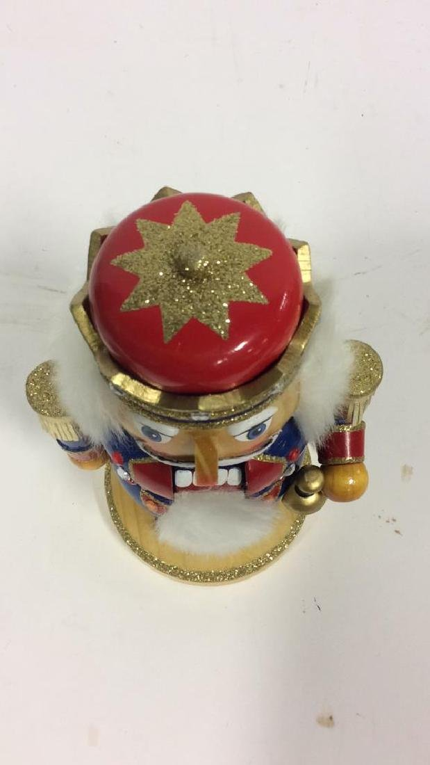 LORD AND TAYLOR Wooden Hand Painted Nutcracker - 7