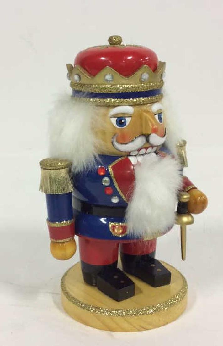 LORD AND TAYLOR Wooden Hand Painted Nutcracker - 9